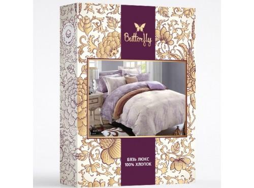 Постельное белье BUTTERFLY Люкс бязь внешний вид упаковки